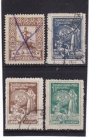 # Z.10347 Georgia Soviet Republic, 1922, Incomplete Set Used, Michel 32 - 35: Definitive Issue - Géorgie