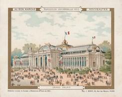 Chromo Ancien - Au Bon Marché - Exposition Universelle 1900 - Grand Palais - Au Bon Marché