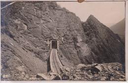 Ligne De Fer De La Mure Tunnel De La Clapisse 1910 - La Mure