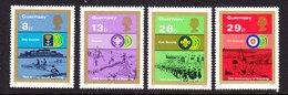 Guernsey 1982 Scouting 4v ** Mnh (44098G) - Guernsey
