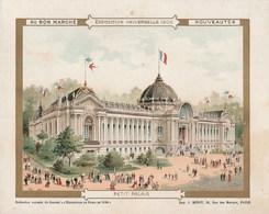 Chromo Ancien - Au Bon Marché - Exposition Universelle 1900 - Petit Palais - Au Bon Marché