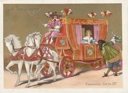 Chromo Ancien - Au Bon Marché - Carrosse Louis XIV - Au Bon Marché