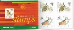 Irlande 2002 Carnet N°1436  Neuf ** Oiseau Rouge Gorge Et Roitelet - Libretti