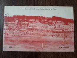 L23/178 Trouville Le Casino Salon Et La Plage - Trouville