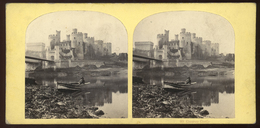 Stereoview - Conway Castle - NORTH WALES - Visionneuses Stéréoscopiques