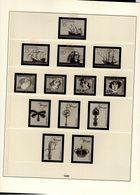 Portugal Lindner Ringbinder Mit Vordruckblätter 1985 - 1991 No. 220 Gebraucht Ohne Marken - Álbumes & Encuadernaciones
