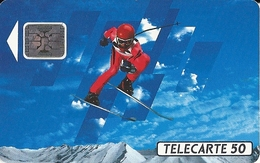 FRANCE TELECOM / ALBERTVILLE 92 - SKI DE DESCENTE - Olympic Games