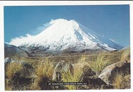 NOUVELLE ZELANDE - MT. NGAURUHOE FROM BRUCE ROAD, New Zeland. - Nouvelle-Zélande