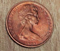 Nouvelle Zélande -1971 - 1 Cent - Nouvelle-Zélande