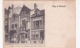 LES HOTEL DE LA DIGUE1920 - Westende