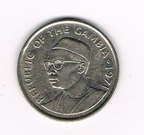// GAMBIA  25  BUTUS  1971 - Gambie