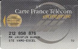CARTE FRANCE TELECOM ENTREPRISE - STE VAMO-EXCEL - Télécartes