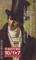 Télécarte Japon 330-11327 * PEINTURE  * ART (2340) NECKTIE WEEK   * Japan * Phonecard * KUNST TELEFONKARTE - Malerei