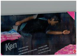 KEN AND HIS DOLPHIN FRIEND BOX INCOMPLETO MATTEL OCEAN FRIEND 1995 BARBIE - 78 G - Dischi Per Fonografi
