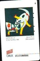Télécarte Japon * PEINTURE FRANCE * ORIX COLLECTION * ART (2347)  * Japan * Phonecard * KUNST TELEFONKARTE - Peinture