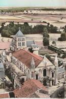 SAINT-JOUIN DE MARNES. - Eglise Abbatiale ( XIè - XIIè Siècle ). Vue Aérienne - Saint Jouin De Marnes