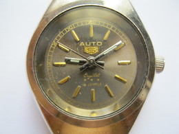Lady`s Watch AUTO 18 Jewels  For Parts Or Repair - A 7040 - Orologi Antichi