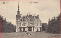 Tielt Thielt Château De Ronseval Kasteel Geanimeerd Cow Koe Vache (In Zeer Goede Staat) - Tielt
