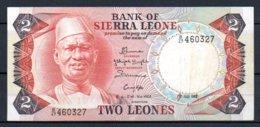 329-Sierra Leone Billet De 2 Leones 1983 B47 - Sierra Leone