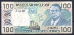 329-Sierra Leone Billet De 100 Leones 1990 D96 - Sierra Leone