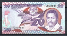329-Tanzanie Billet De 20 Shillings 1987 FC293, Déchirure En Bas - Tanzanie