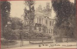 Sint-Niklaas - Kasteel - Château VERMEIRE Saint-Nicolas Waasland Nels 301 (In Zeer Goede Staat) - Sint-Niklaas