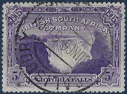 Afrique Du Sud N°81 5s Violet Oblitéré De Salisbury TTB !! - Other