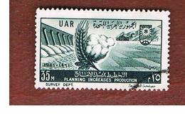 EGITTO (EGYPT) - SG 663  - 1961 FIVE YEAR PLAN: COTTON, DAM    - USED ° - Usati