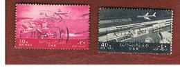 EGITTO (EGYPT) - SG 742  - 1963  AIRMAIL: AIRPLANES   - USED ° - Usati