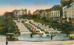 Bruxelles 1915; Monts Des Arts - Voyagé. (éditeur?, Feldpost) - Belgien