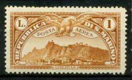 San Marino 1931 Sass. A3 Nuovo * 100% Veduta - Posta Aerea
