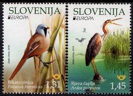 Slovenia - 2019 - Europa CEPT - National Birds - Mint Stamp Set - Slowenien