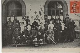 ARVANT  -  Gare D'Arvant 1914 1915 - Infirmerie - - France