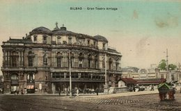 BILBAO - GRAN TEATRO ARRIAGA - ALMACENES AMANN - Vizcaya (Bilbao)