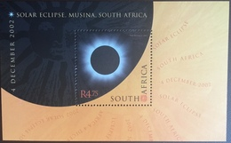South Africa 2002 Solar Eclipse Minisheet MNH - Nuovi
