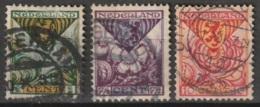 1925 Kind NVPH 166-168 -  Cancelled/gestempeld - Usados