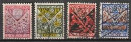 1927 Kind  NVPH 208-211 Complete. Gestempeld/ Cancelled - Usati