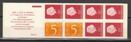 Postzegelboekje NL PB10bF Postfris/MNH** Fosfor Papier - Carnets