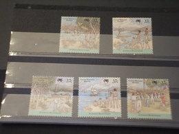 COCOS - 1988 COLONIA NATIVI 5 VALORI -  NUOVI(++) - Isole Cocos (Keeling)