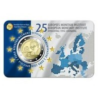Belgie 2019  2 Euro Commemo 25 Jaar EMI    Nederlandstalige Versie    In Coincart   Extreme Rare !!! - België