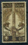 Italia Regno 1911 Sass. 92 Nuovo * 60% Unità Italia - 1900-44 Vittorio Emanuele III