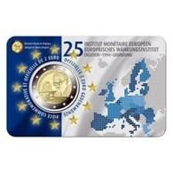 Belgie 2019  2 Euro Commemo 25 Jaar EMI    Version Français   In Coincart   Extreme Rare !!! - Belgique