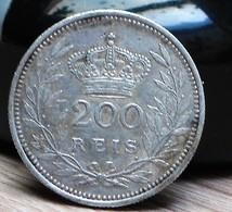 Portugal 1909 200 Reis - Portugal
