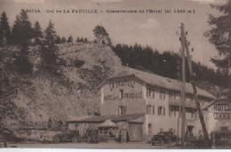 GEX   30714  COL DE LA FAUCILLE  OBQERVATOIRE  HOTELE DOS VERT - Gex