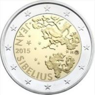 Finland 2015    2 Euro Commemo  Jean Sibilius      UNC Uit De Rol  UNC Du Rouleaux !! - Finlande