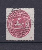 Braunschweig - 1865 - Michel Nr. 18 - 70 Euro - Brunswick