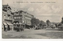 VIROFLAY - Syndicat D'Initiative  -  Place De Verdun  -  (Patisserie Confiserie - Hôtel Des Trois Gares) - Viroflay