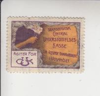 Duitsland Sluitzegel(zie Ook 2e Scan Voor Keerzijde) Mogelijk Ten Voordele Van Skandinavische Arbeiders - Allemagne