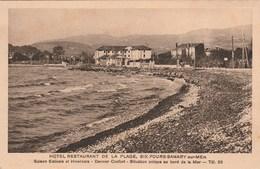 SIX FOURS-SANARY SUR MER Hotel Restaurant De La Plage 137M - Sanary-sur-Mer