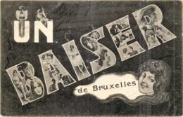 Fantaisie   Un Baiser De Bruxelles - Belgium